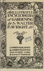 Cover of: An illustrated encyclopaedia of gardening