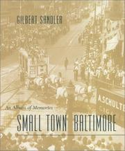 Cover of: Small Town Baltimore | Gilbert Sandler