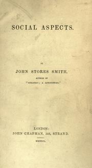 Social aspects by John Stores Smith