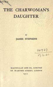 Cover of: The charwoman's daughter