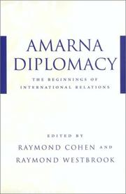 Cover of: Amarna Diplomacy |