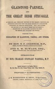 Gladstone-Parnell, and the great Irish struggle by T. P. O'Connor