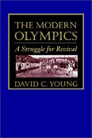 Cover of: The Modern Olympics | David C. Young