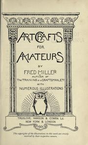 Art crafts for amateurs