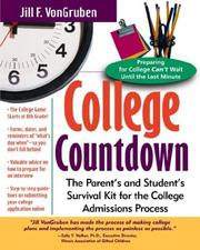 Cover of: College Countdown
