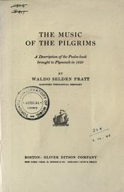 Cover of: The music of the pilgrims by Waldo Selden Pratt