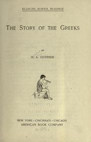 Cover of: The story of the Gree
