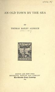 Cover of: An old town by the sea