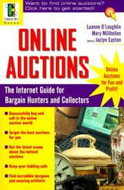 Cover of: Online auctions: the Internet guide for bargain hunters and collectors