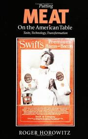 Cover of: Putting meat on the American table