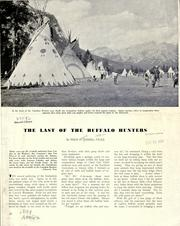 Cover of: The last of the buffalo hunters