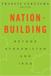 Cover of: Nation-building