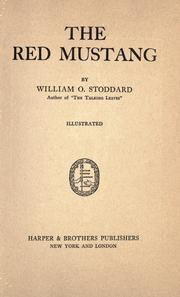 Cover of: The red mustang: a story of the Mexican border