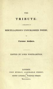 Cover of: The tribute