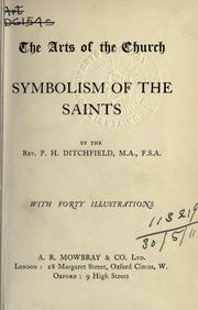 Cover of: Symbolism of the saints