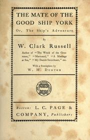 Cover of: The mate of the good ship York: or, The ship's adventure