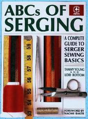 Cover of: ABCs of serging