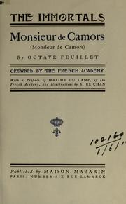 Cover of: Monsieur de Camors (Monsieur de Camors): With a pref. by Maxime Du Camp, and illus. by S. Rejchan.