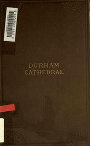 Cover of: Durham Cathedral