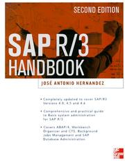 Cover of: SAP R/3 Administrator