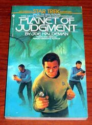 Cover of: PLANET OF JUDGMENT