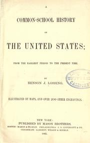Cover of: A common-school history of the United States