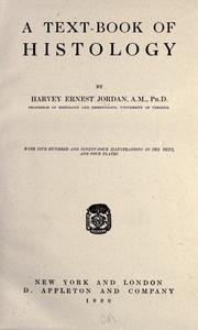 A text-book of histology by Harvey Ernest Jordan
