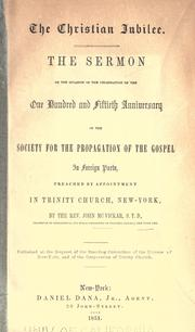 Cover of: The Christian jubilee