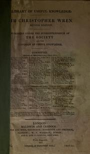 Cover of: Sir Christopher Wren