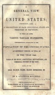 Cover of: A general view of the United States