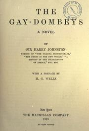 Cover of: The Gay-Dombeys, a novel