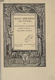 Cover of: Hans Holbein, the younger