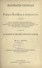 Cover of: Illustrated Cincinnati by Daniel J. Kenny