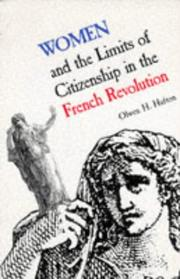 Cover of: Women and the Limits of Citizenship in the French Revolution (Donald G. Creighton Lectures)