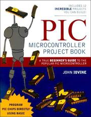 PIC microcontroller project book by John Iovine