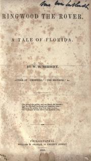 Cover of: Ringwood the Rover, a tale of Florida