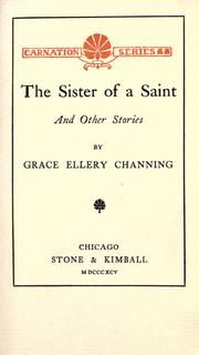 Cover of: The sister of a saint