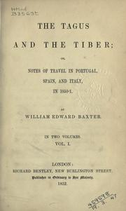 Cover of: The Tagus and the Tiber