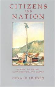 Cover of: Citizens and nation