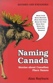 Cover of: Naming Canada