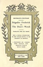Cover of: Brigadier Frederick And The Dean's Watch