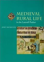 Cover of: Medieval rural life in the Luttrell Psalter