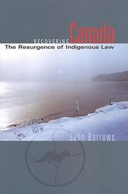 Cover of: Recovering Canada
