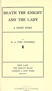 Cover of: Death, the knight, and the lady