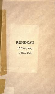 Cover of: Rondeau