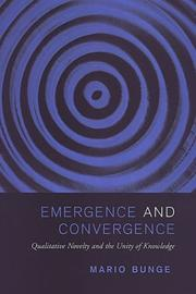 Cover of: Emergence and convergence