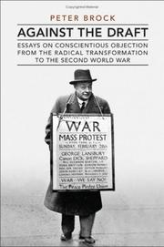 Cover of: Against the Draft