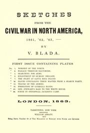 Cover of: Sketches from the civil war in North America