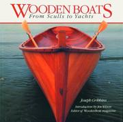 Cover of: Wooden boats | Joseph Gribbins