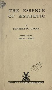 Cover of: Breviario di estitica